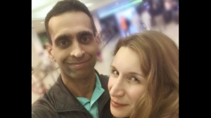 Mohammed Shamji, 40, and Elana Fric Shamji, 40, are shown in an undated photo.