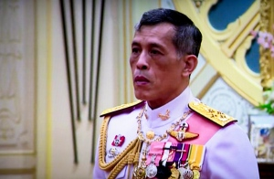 "In this image made from video, Thailand's Crown Prince Maha Vajiralongkorn, listens to the invitation to ascend to the throne from National Legislative Assembly President Pornpetch Wichitcholchai, at the Grand Palace in Bangkok, Thailand,Thursday, Dec. 1, 2016. The new monarch, who received the title ""His Majesty King Maha Vajiralongkorn Bodindradebayavarangkun,"" assumed his new position Thursday, according to an announcement broadcast on all TV channels. (Thai TV Pool via AP)"