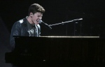 "Shawn Mendes performs ""Mercy"" at the American Music Awards at the Microsoft Theater on Sunday, Nov. 20, 2016, in Los Angeles. (Photo by Matt Sayles/Invision/AP)"