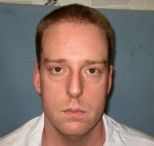 This undated photo provided by the Alabama Department of Corrections shows Ronald Bert Smith Jr. Smith Jr., an Alabama inmate coughed repeatedly and his upper body heaved for at least 13 minutes during an execution, Thursday, Dec. 8, 2016, using a drug that has previously been used in problematic lethal injections in at least three other states. (Alabama Department of Corrections via AP, File)