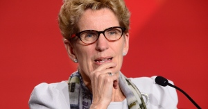 Ontario Premier Kathleen Wynne takes part in the closing press conference of the Meeting of First Ministers and National Indigenous Leaders in Ottawa on Friday, Dec. 9, 2016. (Sean Kilpatrick / THE CANADIAN PRESS)