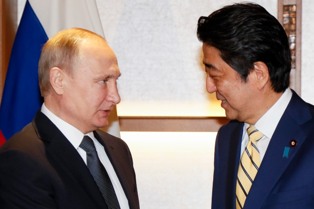 Japan's PM ready to end territorial dispute with Russian Federation