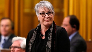 Minister of Status of Women Patty Hajdu stands in the House of Commons, in Ottawa, on Friday, Dec. 9, 2016. (THE CANADIAN PRESS/ Patrick Doyle)