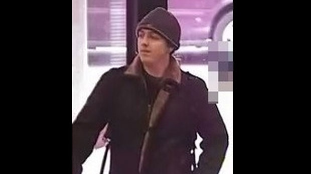 Toronto police are searching for a suspect dubbed the 'Lunchtime Bandit' following five bank robberies in the city. (Toronto police handout)