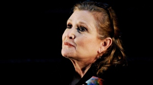A file picture dated 23 June 2013 shows US actress Carrie Fisher at Supanova Pop Culture Expo at Homebush in Sydney, Australia. According to media reports on 23 December 2016, Carrie Fisher has been hospitalized due to a heart attack.  EPA/TRACEY NEARMY