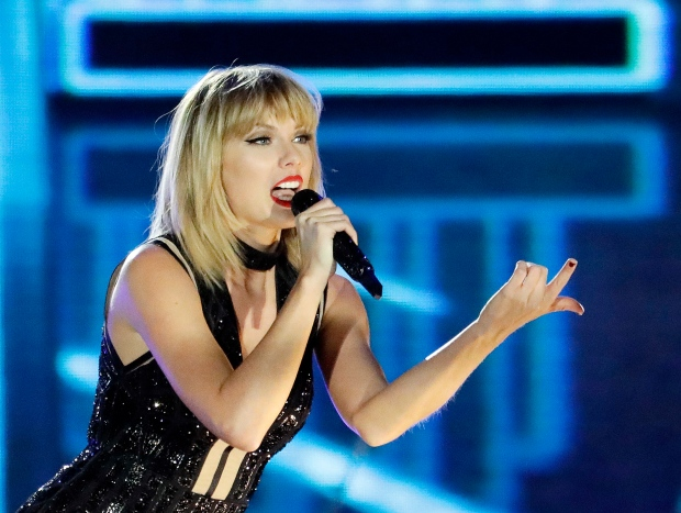 Taylor Swift surprises 96-year-old super-fan at family Christmas party