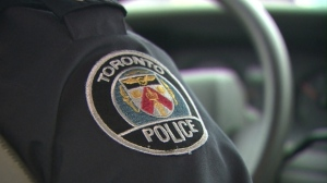 Two people are in hospital after a crash in Scarborough on Monday.