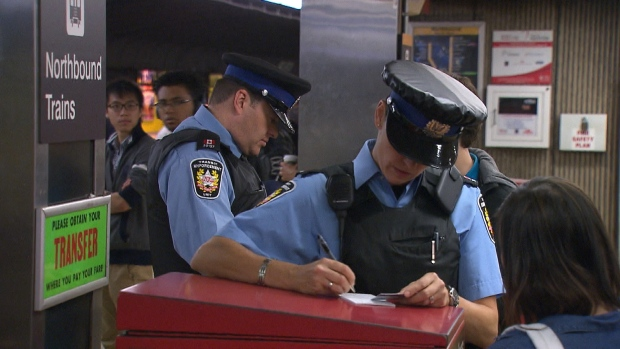 TTC, traffic enforcement officers generic, fare
