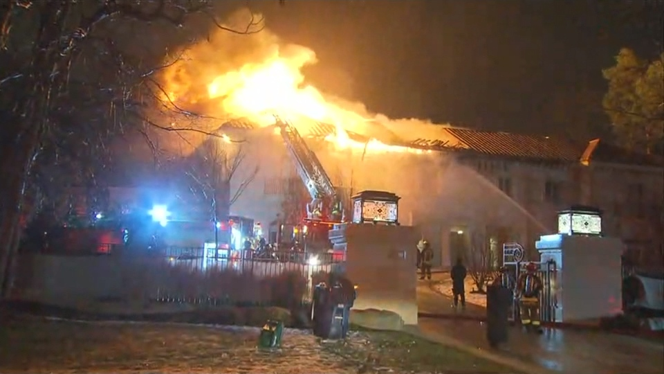 The Office of the Fire Marshal has been called in to investigate a four-alarm fire at a Bridle Path mansion.