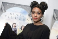 """Janelle Monae attends a special screening of """"Hidden Figures"""" on Wednesday, Jan. 4, 2017, in West Hollywood, Calif. (Photo by Richard Shotwell/Invision/AP)"""