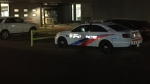 A man who collapsed in an emergency room at a Toronto area hospital suffered life-threatening stab wounds, Toronto police say. (Mike Nguyen/ CP24)