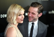 """FILE - In a Wednesday, Nov. 30, 2016 file photo, Kate Mara, left, and Jamie Bell arrive at the Los Angeles premiere of """"Man Down"""" at ArcLight Cinemas Hollywood. A spokeswoman for Kate Mara confirmed Monday, Jan. 16, 2017, that the actress and her """"Fantastic Four"""" co-star Jamie Bell are engaged.(Photo by Chris Pizzello/Invision/AP, File)"""
