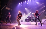 In this Thursday, Dec. 15, 2016, file photo, Metallica performs at The Fonda in Los Angeles. John Legend, Carrie Underwood, Keith Urban and Metallica are set to perform at the Grammy Awards on Feb. 12, 2017. (Photo by Rich Fury/Invision/AP, File)