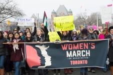 Toronto, Women's March