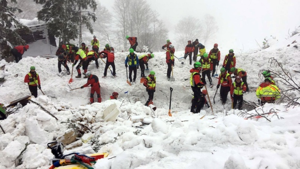 Survivors Rescued from Italian Hotel Following Avalanche