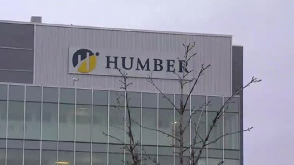 A building at Humber College's North Campus is pictured.
