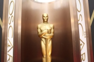 FILE - In this March 2, 2014 file photo, an Oscar statue is displayed at the Oscars at the Dolby Theatre in Los Angeles. Nominees for the 89th Academy Awards will be announced on Tuesday, Jan. 24, 2017. (Photo by Matt Sayles/Invision/AP, File)