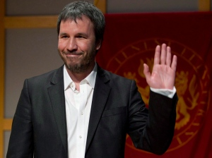 Film director Denis Villeneuve acknowleges applause as he is introduced as one of the latest recipients of Governor General's Performing Arts Awards in Toronto on Thursday March 3, 2011.Villeneuve says he grew up dreaming about space. THE CANADIAN PRESS/Frank Gunn