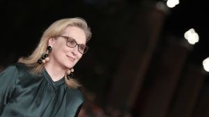 Actress Meryl Streep at the Rome Film Festival screening of Florence Foster Jenkins, October 2016. © Tiziana Fabi / AFP