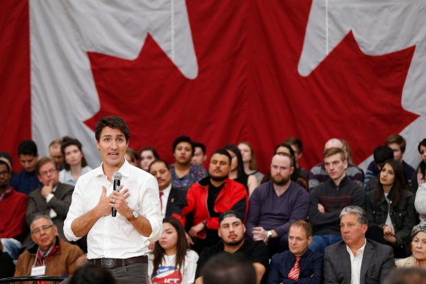 Canada PM tweets welcome to refugees as Trump puts hold on arrivals