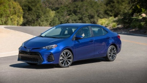 The 2017 Toyota Corolla SE is pictured (Handout /Toyota)