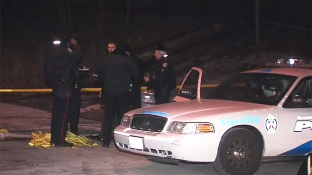 Police are investigating a suspicious death after a body was found in an Etobicoke ravine.