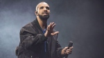 Drake, pictured performing in Toronto in an Oct. 8, 2016 file photo, has released his latest studio album 'More Life.' (Arthur Mola, Invision/THE CANADIAN PRESS)