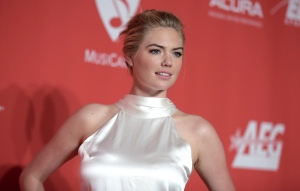In this Friday, Feb. 10, 2017 file photo, Kate Upton arrives at the MusiCares Person of the Year tribute honoring Tom Petty at the Los Angeles Convention Center. (Photo by Richard Shotwell/Invision/AP, File)