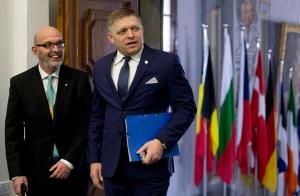Slovakian Prime Minister Robert Fico