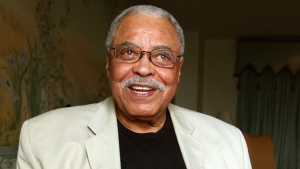 In this Jan. 7, 2013, file photo, actor James Earl Jones poses for photos in Sydney, Australia. (AP Photo/Rick Rycroft, File)