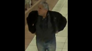Police have released this security camera image of a suspect wanted in connection with a disturbance at a downtown hotel.