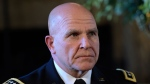 Army Lt. Gen. H.R. McMaster listens as President Donald Trump makes the announcement at Trump's Mar-a-Lago estate in Palm Beach, Fla., Monday, Feb. 20, 2017, that McMaster will be the new national security adviser. (AP Photo/Susan Walsh)