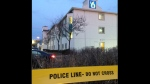 One man is dead following a reported shooting at a Brampton motel. (Cam Woolley/ CP24)