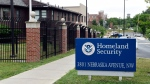 In this June 5, 2015 file photo, a view of the Homeland Security Department headquarters in Washington. (AP Photo/Susan Walsh, File)
