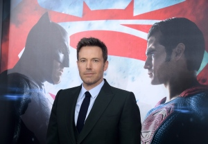 "FILE - In this March, 20 2016, file photo, Ben Affleck attends the premiere of ""Batman v Superman: Dawn of Justice"" at Radio City Music Hall in New York. Speculation is rampant about Affleck's upcoming standalone Batman film after the actor tweeted video on Monday, Aug. 29 or what appears to be a film version of DC Comics villain Deathstroke. (Photo by Charles Sykes/Invision/AP, File)"