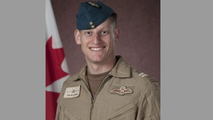 Capt. Thomas McQueen is shown in this undated handout image. An investigation has found McQueen, a pilot who died during a training mission near the Alberta-Saskatchewan boundary, didn't eject or call for help before the crash.THE CANADIAN PRESS/HO-Canadian Armed Forces Imagery MANDATORY CREDIT