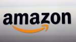 This Sept. 6, 2012, file photo, shows the Amazon logo in Santa Monica, Calif.  (AP Photo/Reed Saxon, File)