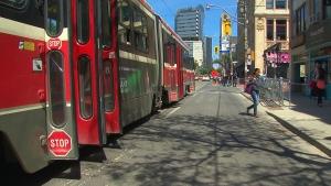 Queen Street, streetcars