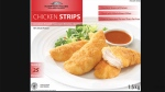 Hampton House chicken strips have been recalled.  (Photo provided by the Canadian Food Inspection Agency).