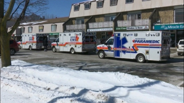 Ontario chiropractor killed in Burlington clinic shooting, suspect in critical condition