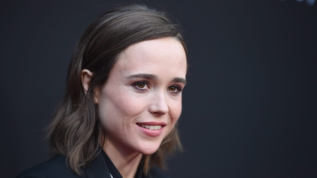 "Ellen Page arrives at the Los Angeles premiere of ""Into the Forest"" at the Arclight Hollywood on Wednesday, June 22, 2016. (Photo by Jordan Strauss/Invision/AP)"