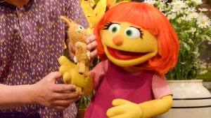 Julia the muppet