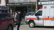 Mejilla Chiropractic clinic Burlington shooting