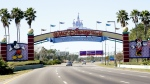 In this Tuesday, Jan. 31, 2017 photo, cars travel one of the roads leading to Walt Disney World in Lake Buena Vista, Fla. (AP Photo/John Raoux)
