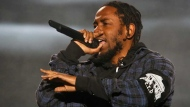 In this Oct. 1, 2016 file photo, Kendrick Lamar performs on the second day of the Austin City Limits Music Festival in Austin, Texas. (Photo by Jack Plunkett/Invision/AP)