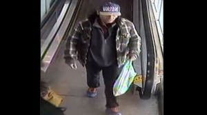 Police have released this photo of a suspect wanted in connection with a sexual assault at a Toronto grocery store. (Toronto Police Service handout)