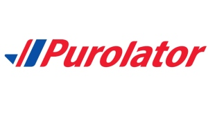 The corporate logo of Purolator is shown. THE CANADIAN PRESS/HO
