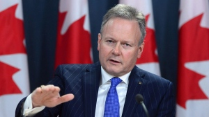 Bank of Canada governor Stephen Poloz holds a news conference at the National Press Theatre in Ottawa on Dec. 15, 2016. THE CANADIAN PRESS/Sean Kilpatrick