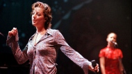 Sarah McLachlan performs at Lilith Fair in Mountain View, Calif., in this Tuesday, July 8, 1997 file photo. THE CANADIAN PRESS/AP/Robin Weiner