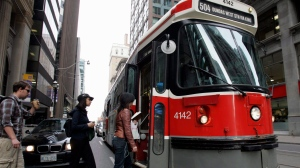 "The Toronto Transit Commission launches ""You Said It"" campaign on Monday to improve riders' behaviour on the subway, buses and streetcars. (J.P. Moczulski/The Canadian Press)"
